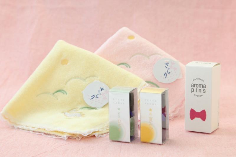 『香り』の贈り物~ひのき&夏みかん~ アロマピン01